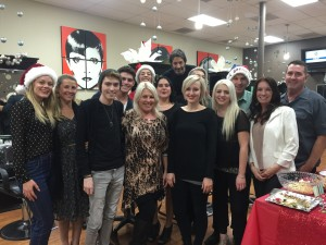 Salon Heavener Holiday Party