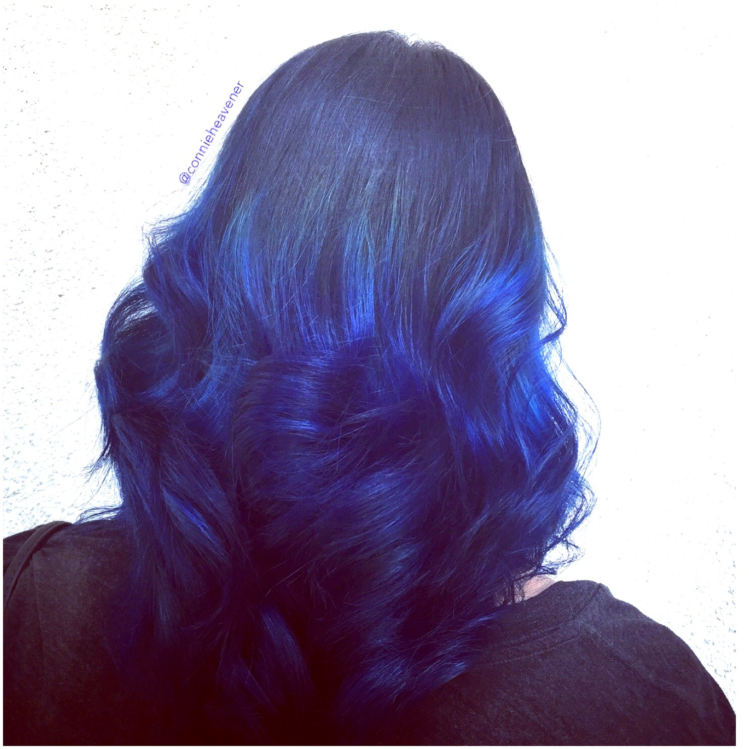 Strawberry blonde balayage highlights by connie salon heavener electric blue ombre by connie blue ombre balayage highlight pmusecretfo Gallery